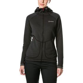 Berghaus Redonda Hooded Fleece Jacket Damen black/carbon